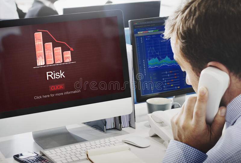 Risk Gamble Opportunity SWOT Weakness Unsure Concept stock photography