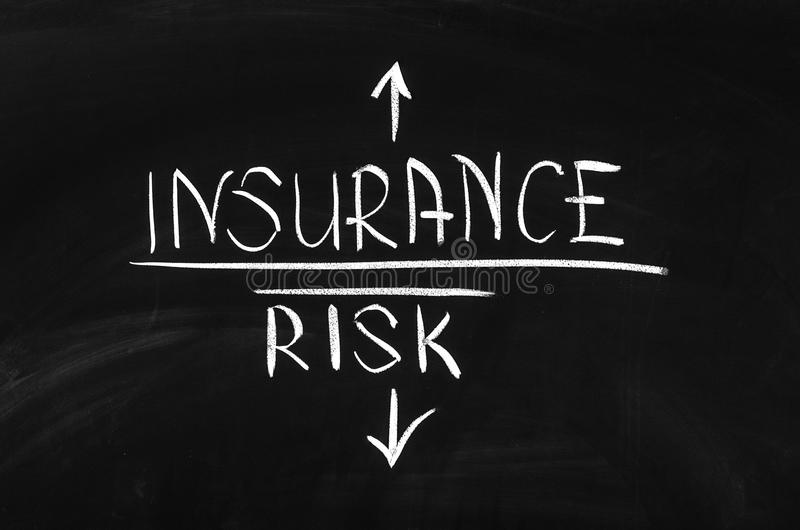 Risk and Insurance royalty free stock photo