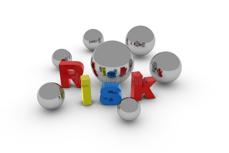 Download Risk letter stock illustration. Illustration of objects - 12039669