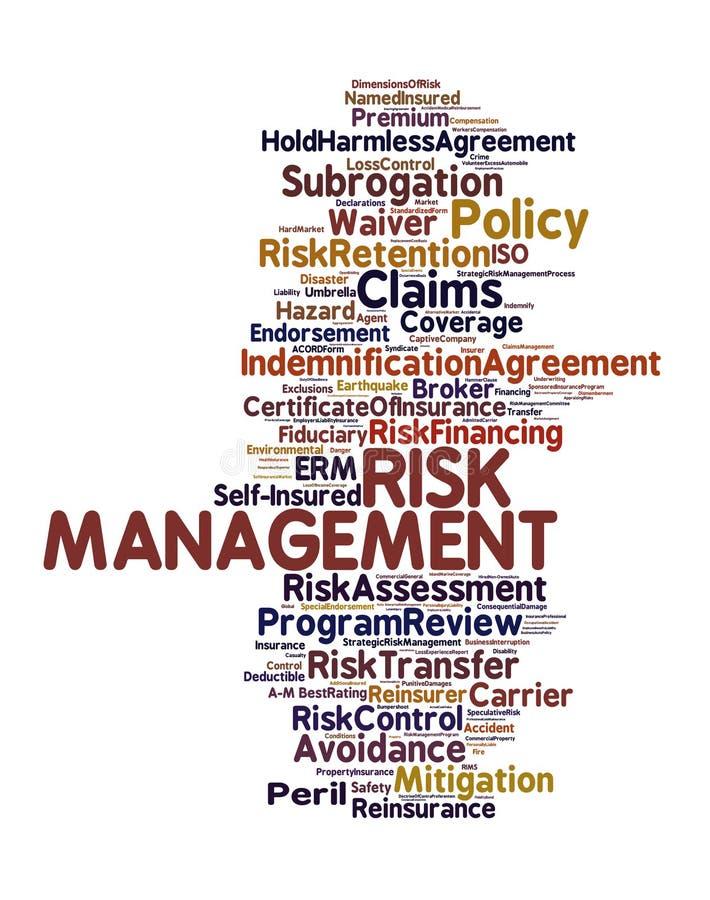 Risk Management Stock Photo