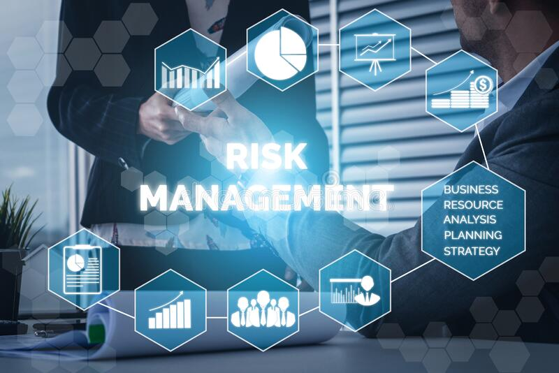 Risk Management and Assessment for Business royalty free stock photo