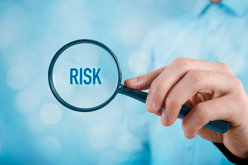 Risk management royalty free stock image