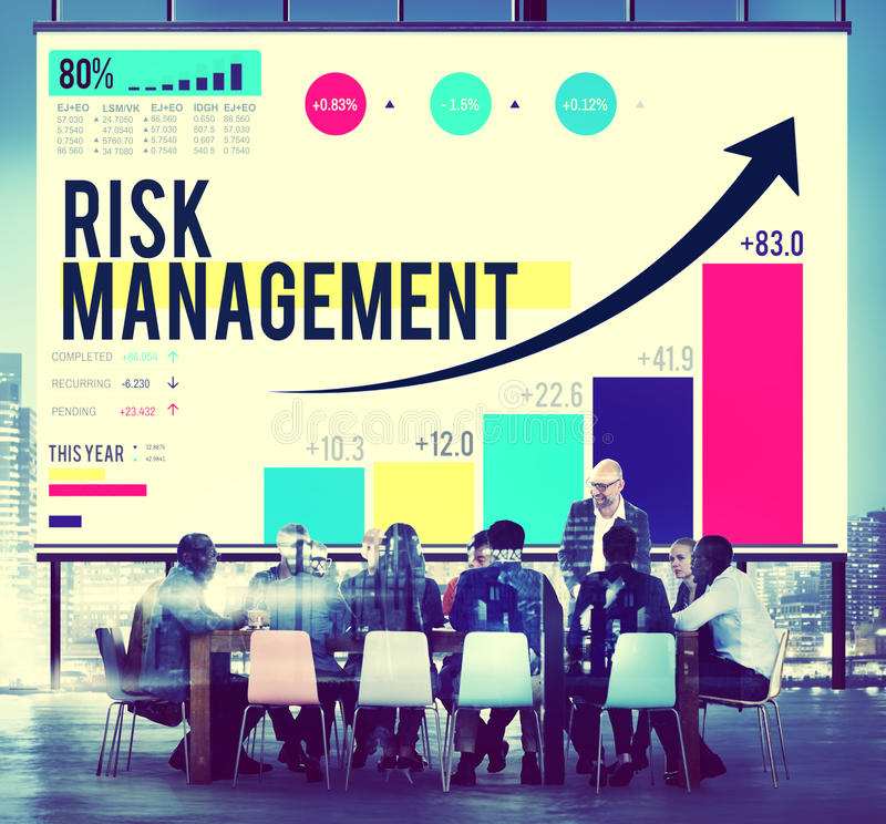 Risk Management Opportunity Planning Safety Concept royalty free stock photos