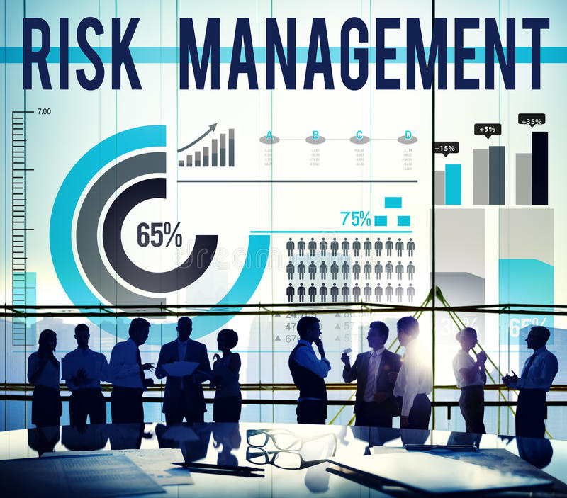 Risk Management Opportunity Planning Safety Concept royalty free stock images