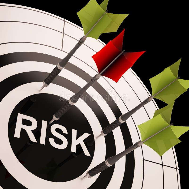 Free Risk On Dartboard Shows Risky Business Stock Photo - 32066990