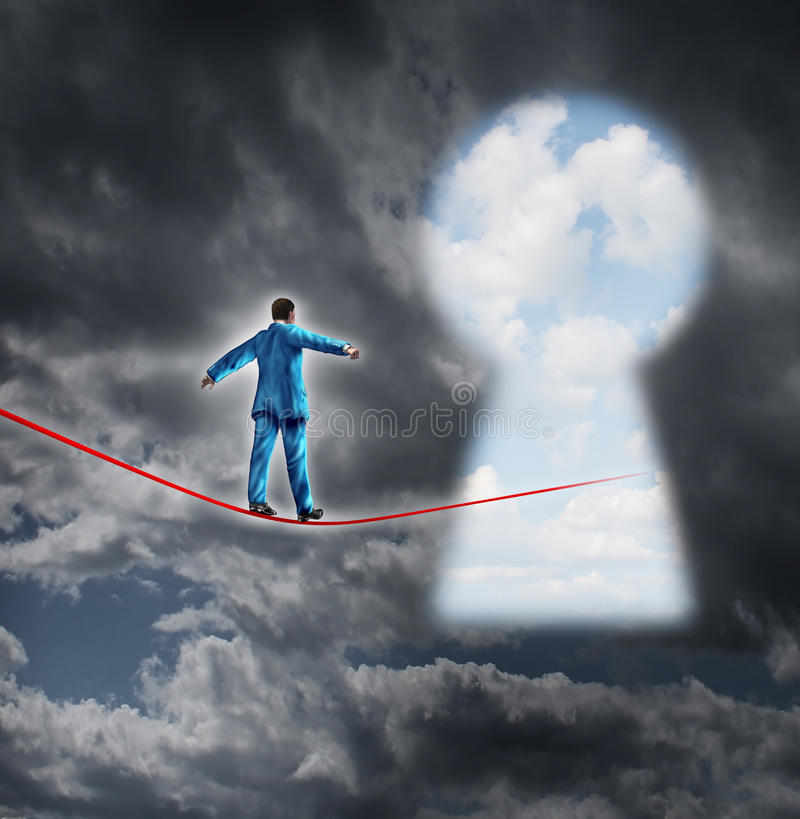 Risk And Opportunity stock illustration