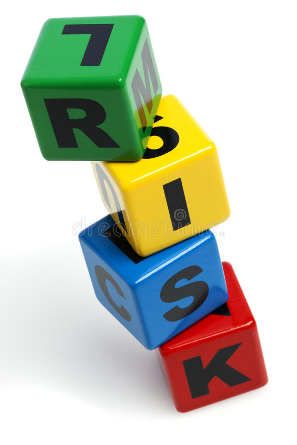 Download RISK Spelled With Stacked Alphabet Building Blocks Stock Photo - Image of tilted, letter: 23466208