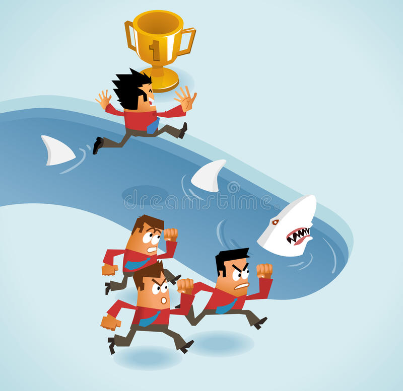 Download Risk Taking stock illustration. Image of ideas, successful - 25239892