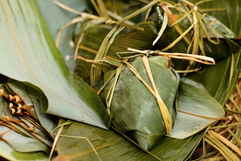 Risklimp på bambusidor arkivfoto