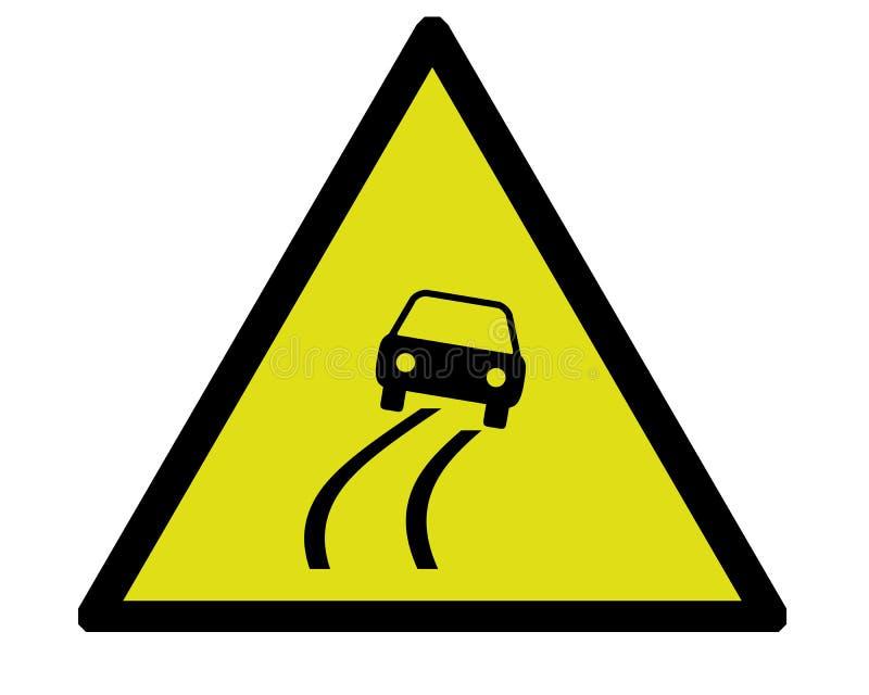 Risky road royalty free illustration