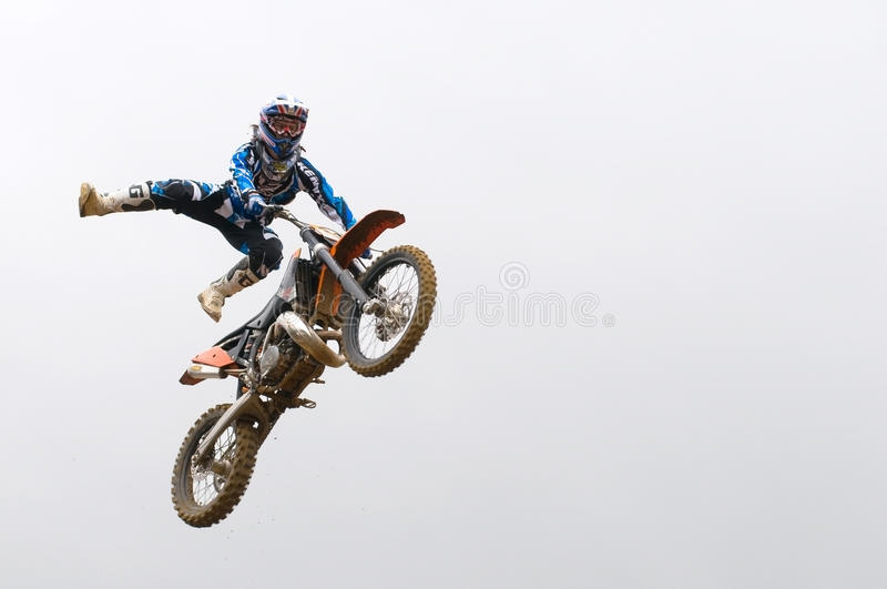 Download Risky stunt editorial stock photo. Image of motocross - 21134638