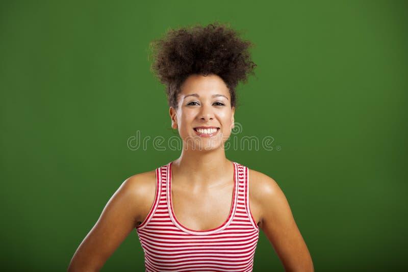 Riso africano da mulher fotos de stock royalty free