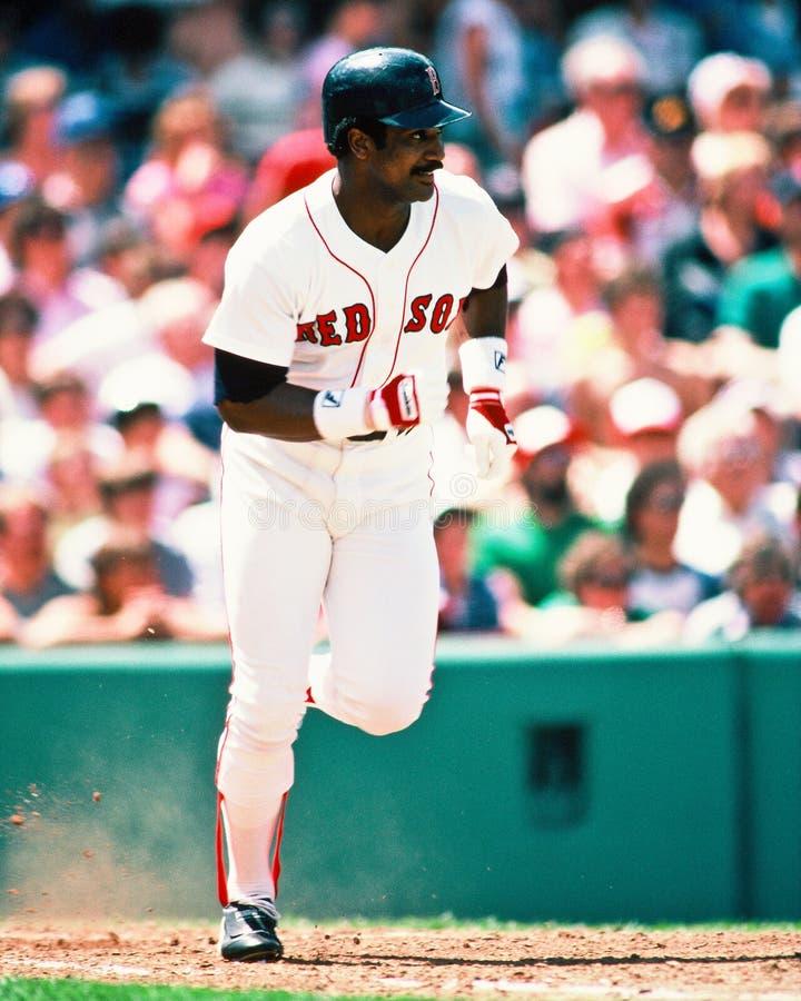 Riso Boston Red Sox del Jim fotografia stock libera da diritti
