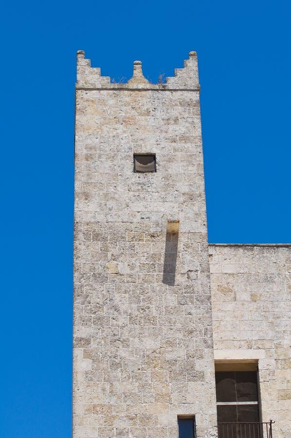 Risolopaleis. Specchia. Puglia. Italië. stock foto's