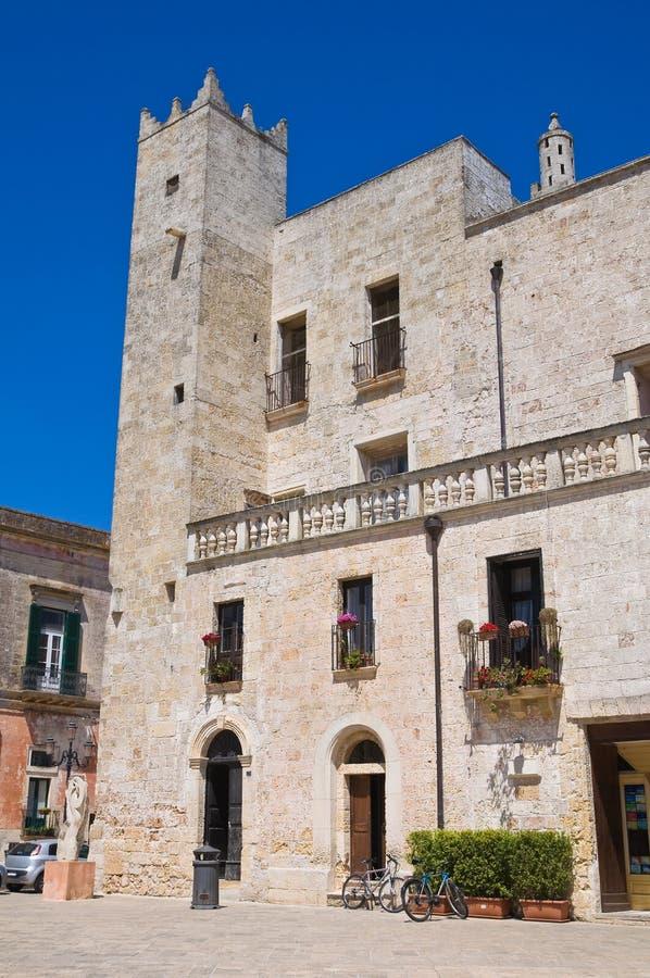 Risolopaleis. Specchia. Puglia. Italië. royalty-vrije stock fotografie