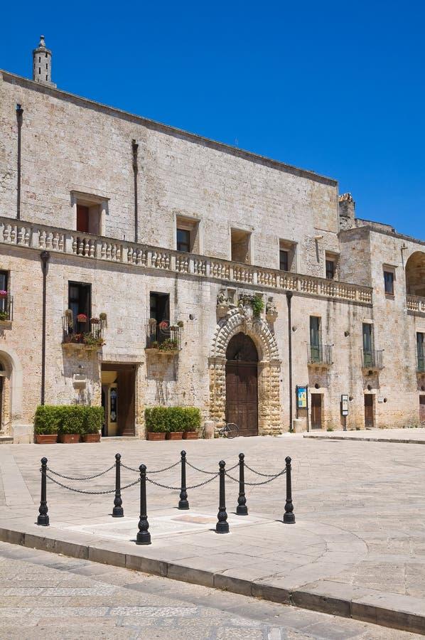 Risolopaleis. Specchia. Puglia. Italië. royalty-vrije stock afbeelding