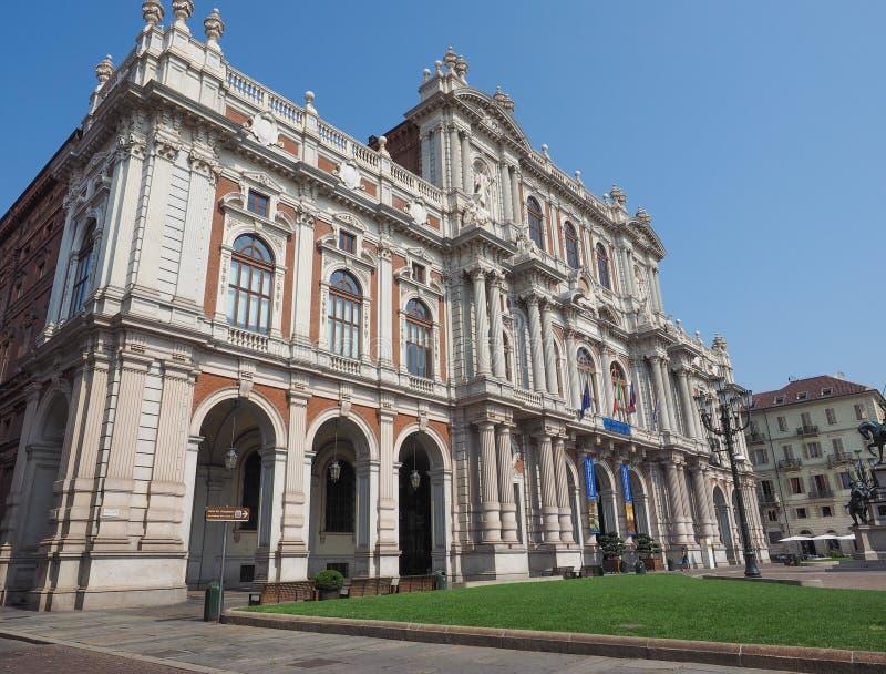 Risorgimento国家博物馆在都灵 免版税图库摄影