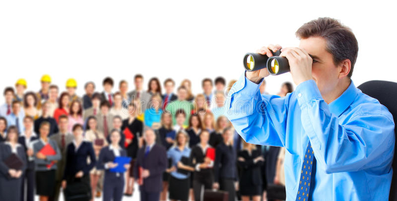 Risorse umane fotografie stock libere da diritti