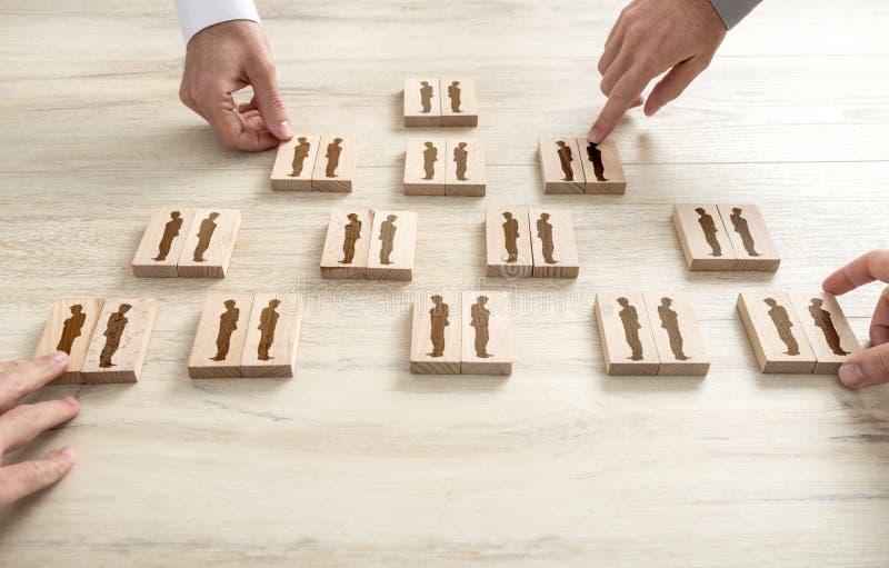 Risorse umane e concetto della gestione immagine stock