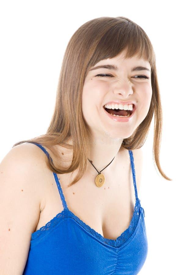 Risos da rapariga fotos de stock royalty free