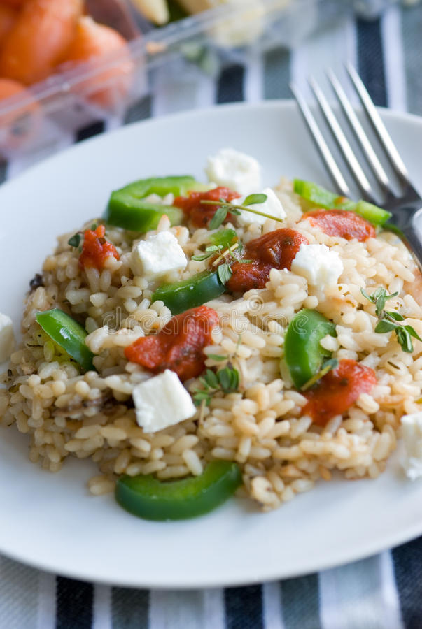 Risotto fotografia de stock royalty free