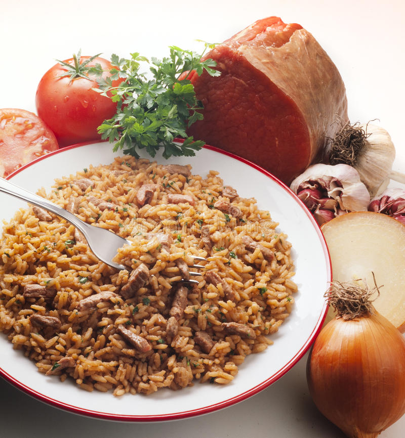 Download Risotto stock image. Image of color, delicious, dish - 20784279