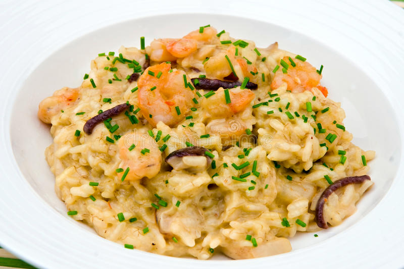 risotto fotografia stock