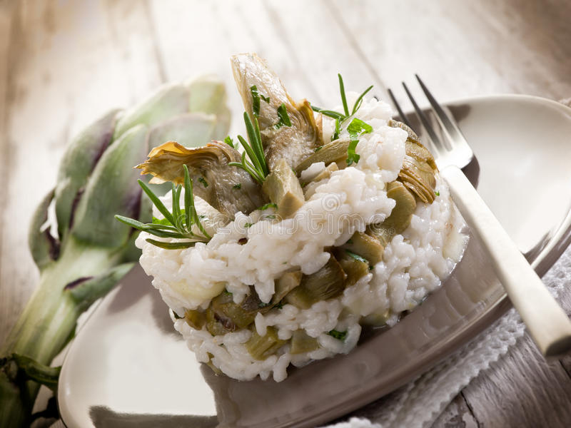 Download Risotto With Artichokes Royalty Free Stock Photo - Image: 22009795