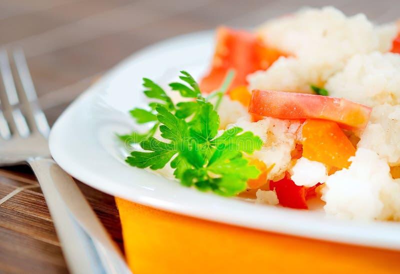 Download Risotto avec le légume image stock. Image du gastronomie - 45360483