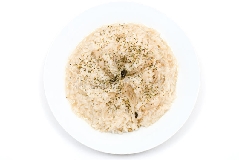 Download Risotto do cogumelo foto de stock. Imagem de italiano - 16869152