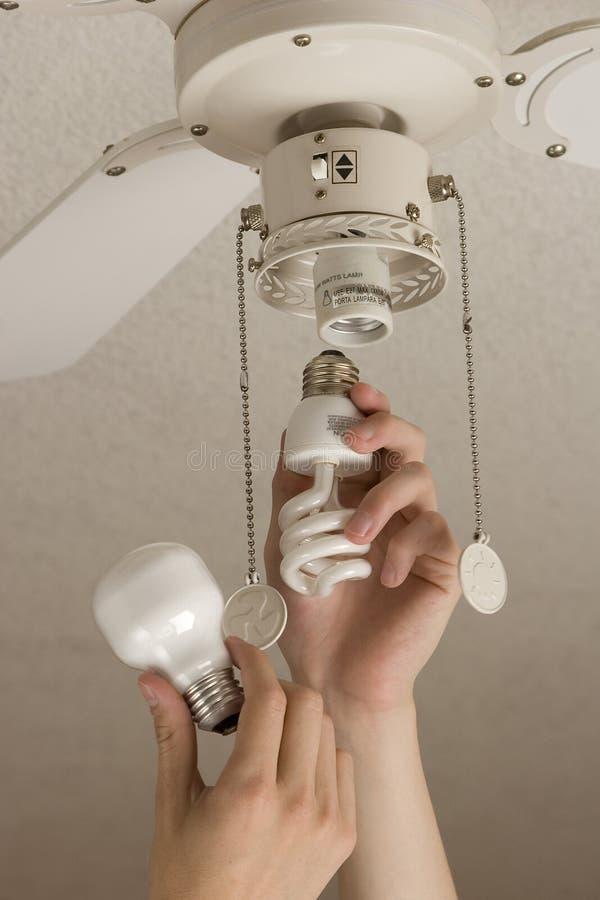 Risparmiare energia immagini stock