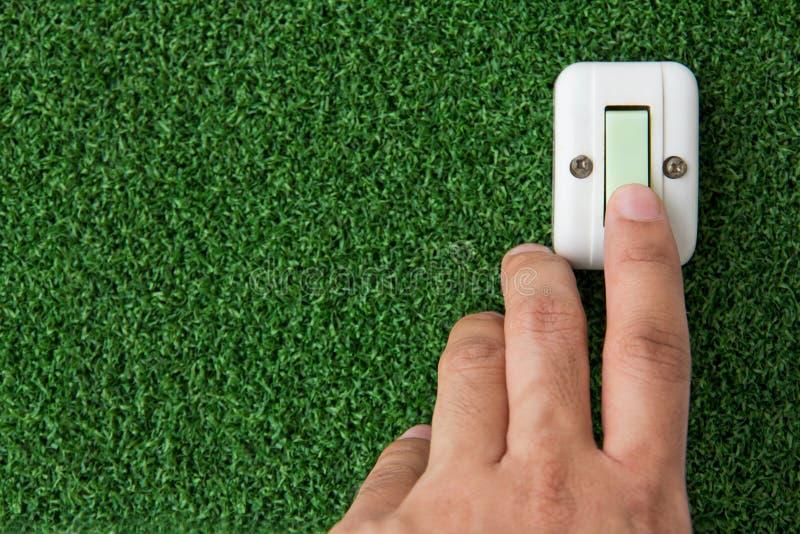 Risparmiare energia fotografia stock