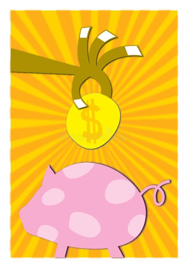 Download Risparmio illustrazione di stock. Immagine di saving, arte - 350515