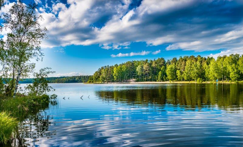 Rispecchiare lago immagini stock libere da diritti