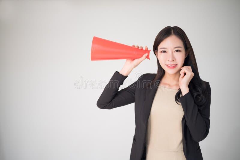 Risposte, indagine, commento, fondo di concetto di opinione con l'asiatico immagini stock libere da diritti
