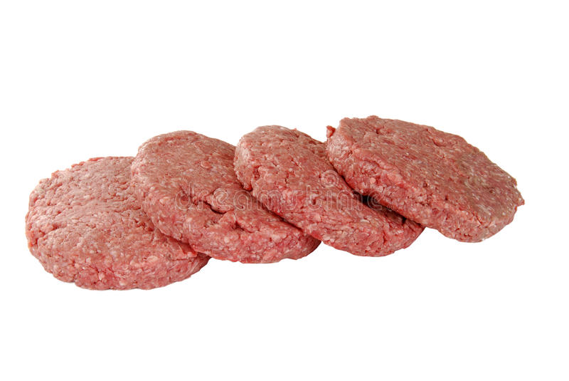 Download Rissóis do Hamburger foto de stock. Imagem de naughty - 16865364