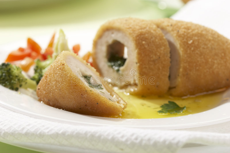 Rissole (meatless ball) stock images
