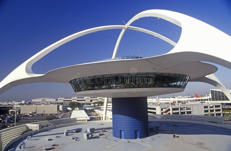 Ristorante all'aeroporto internazionale di Los Angeles, Los Angeles, California di tema di LASSISMO fotografia stock libera da diritti