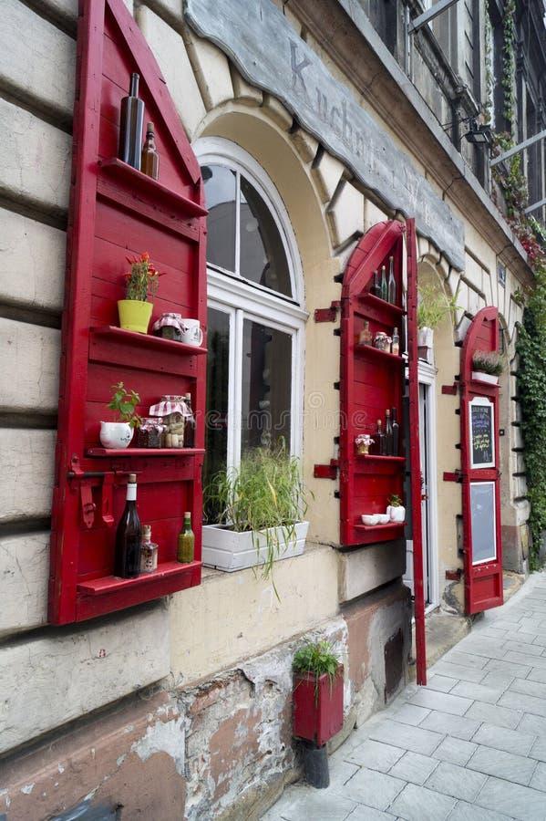 Ristorante - Cracovia fotografia stock libera da diritti