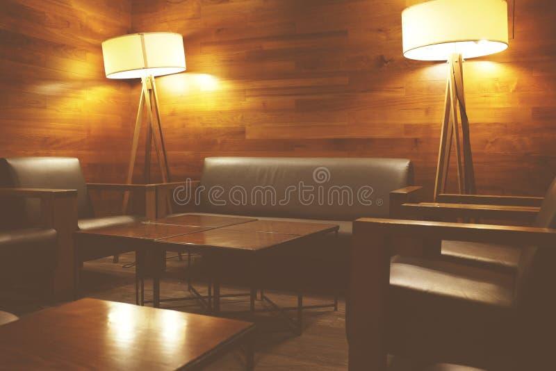 ristorante del caffè su all'aperto, uso per fondo Caffè in asiatico Caffè all'aperto con le tavole, sedie, Per crei il prodotto d immagini stock