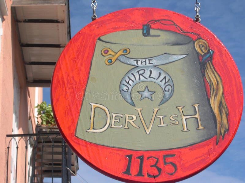 Ristorante del derviscio girantesi e Antivari, New Orleans, LA fotografia stock