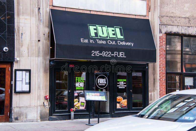 Ristorante dell'alimento salutare del combustibile fotografia stock libera da diritti