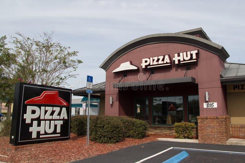 Ristorante di Pizza Hut fotografia stock libera da diritti