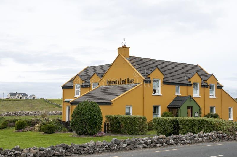 Ristorante e pensione irlandesi immagine stock