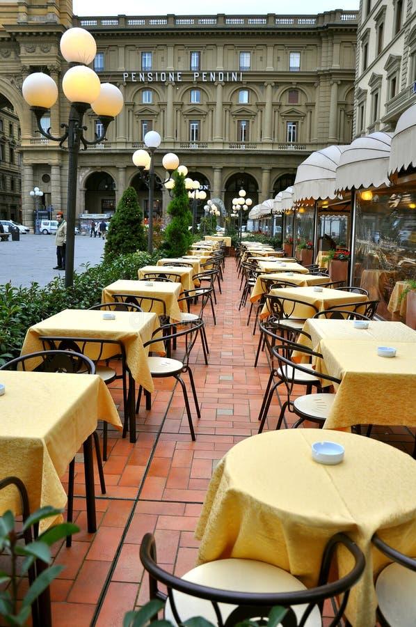 Ristorante in Italia immagine stock