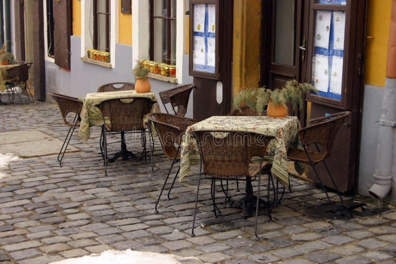 Ristorante tradizionale ungherese fotografia stock