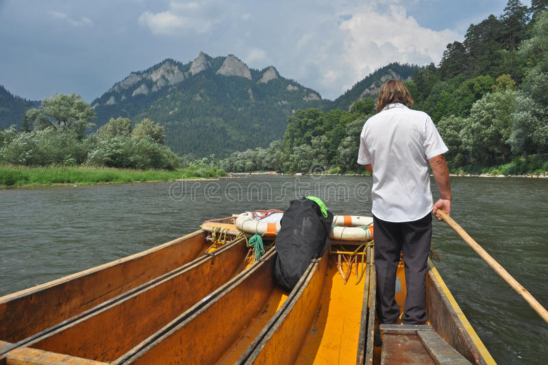 ristorical rafting arkivfoton