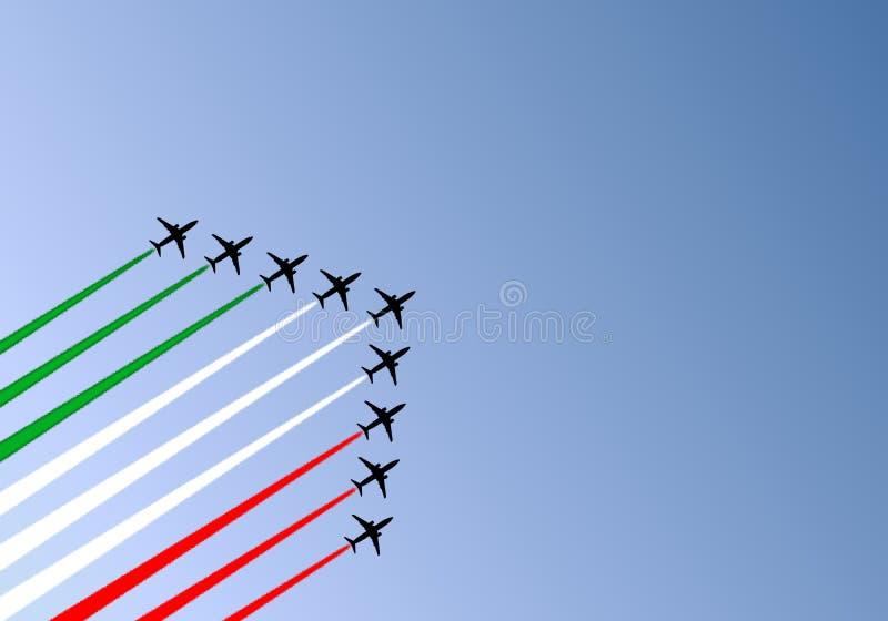 Risveglio Tricolor fotografie stock libere da diritti