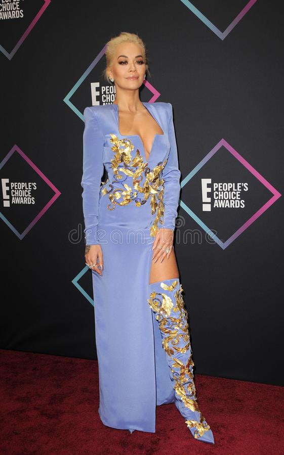Rita Ora photographie stock libre de droits