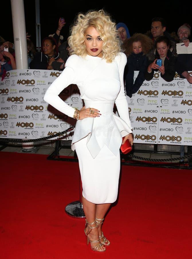 Rita Ora royalty-vrije stock afbeeldingen